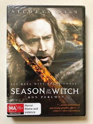 Season Of The Witch - Nicolas Cage (DVD, 2011) Region 4- NEW & SEALED