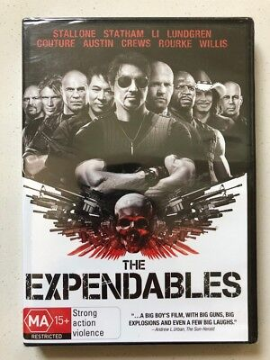 The Expendables - Sylvester Stallone (DVD, 2010) Region 4- NEW & SEALED