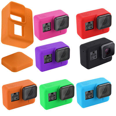 2018 For GoPro HERO 7 Black Silicon Camera Case Protective Skin Rubber Cover UK
