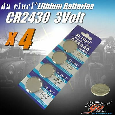 4 x CR1225 Lithium 3 volt Coin Battery Local Stock 3v 50mAh same as Duracell DL1