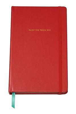 "Kate Spade New York ""Paint The Town Red"" Blank Notebook"