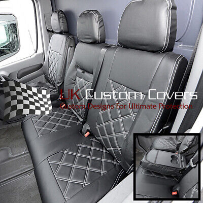 Mercedes Sprinter Van - Leather Look Front Seat Covers 2010-2018 234
