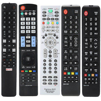 Repacelment TV Remote Control for Samsung LG Sony TCL Philips Toshiba GRUNDIG