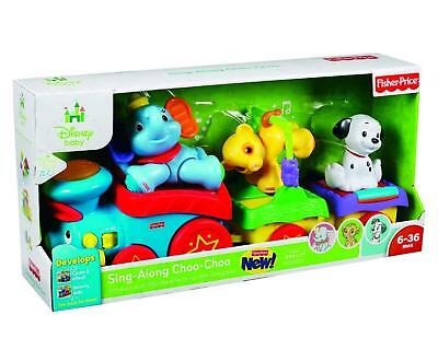 Fisher-Price Disney's Musikzug, mit 3 Filmfiguren X7584 NEU & OVP