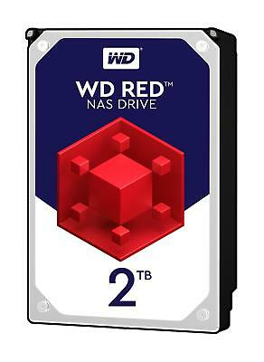 "Western Digital WD Red 2TB 2000GB 3.5"" Festplatte HDD SATA 6Gb/s (WD20EFRX)"