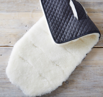 THE LITTLE WHITE COMPANY Sheepskin Pram Pushchair Liner