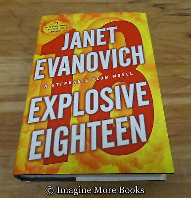 Explosive Eighteen by Janet Evanovich ~ Stephanie Plum: Book 18 ~ Large Print HC