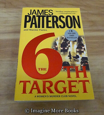 6th Target by James Patterson ~ Women's Murder Club: Book 6 ~ Trade Paperback