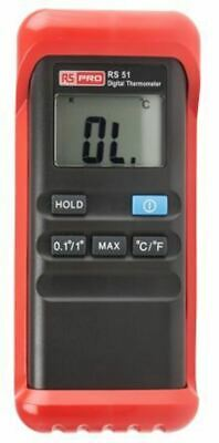 RS PRO Digital Thermometer, 1 Input Handheld, K Type Input