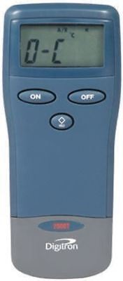 Digitron 2000T Digital Thermometer, 1 Input Handheld, K Type Input With RS Calib