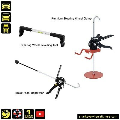 QuickTrak Premium Wheel Alignment Accessory Pack - Handmade in the UK