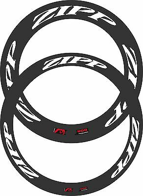 Reflective Zipp 808/404 2013 Decal Set For Two Wheels