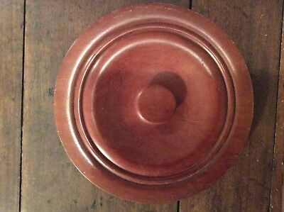 Antique Wooden  Chamber Pot or Commode Lid