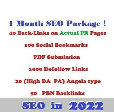 1 Month SEO Service ! SPECIAL SEO BOOST PACKAGE !!!  SEO Diversity !!!