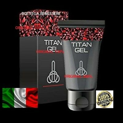 TITAN GEL 50 ml -promo - xxl pene,  100% ORIGINAL IN ITALIA SUPER OFFERTA