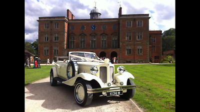 beauford wedding car, long bodied 4 door 6 seater