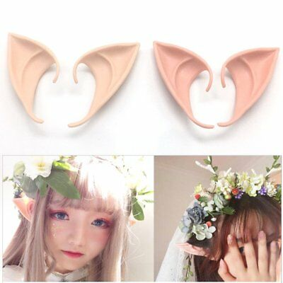 Angel Elf Ears Soft False Ears Halloween Party Cosplay Accessories AZ