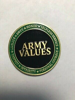 US Army Core Values Coin [CC-2029]