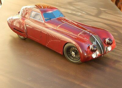 Patrice de Conto 1/6 ALFA ROMEO 8C 2900B - 1 of the 3 - no 1/12 1/18 AMR CMC