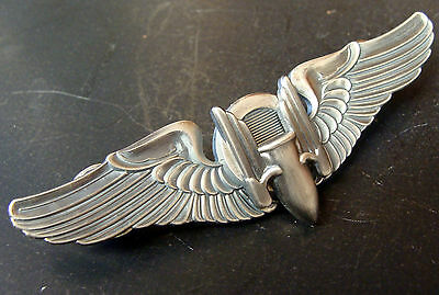 "Army Air Forces 3 Inch Gunner Wing ""Winged Bullet"""