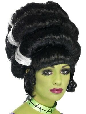 Adult Pin Up Frankie Wig Ladies Halloween Party Fancy Dress Costume Accessory