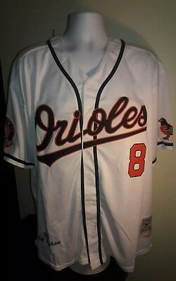 f5fefee17 spain cal ripken jr. baltimore orioles 1989 mitchell and ness retro jersey  2xl 2a0f7 34cd1