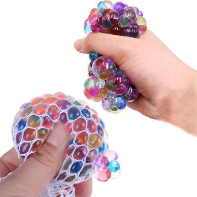 Anti Stress Mesh Grape Ball Mood Squeeze Stress Reliese Relief Toys Random Color