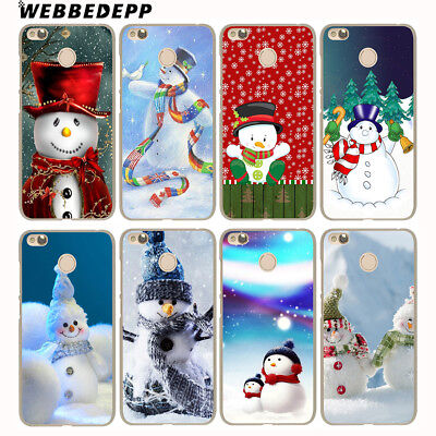 Skin N4373 For Xiaomi Redmi 4A 5A 5 Plus 6A 6 Note 5 Case Cover Mobile Christmas