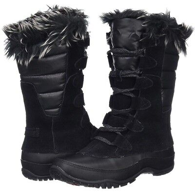 5a8b18ada THE NORTH FACE Nuptse Purna Women's Waterproof Winter Snow Boots Black sz  6~10