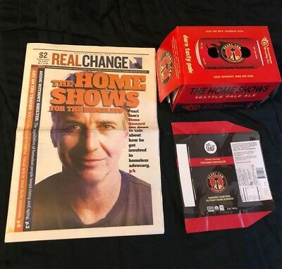 Pearl Jam Home Shows - Theo Chocolate Wrapper Real Change Paper  Beer Case Box