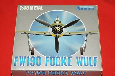 Franklin Mint Armour Collection FW190 Focke Wulf 98045 Metal Model Brand New