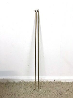 60s original vintage Staples Ladderax spare pair of  35'' shelf cabinet supports