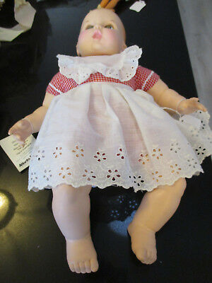 Cute Vintage Gerber Baby Doll With Tag Eyes Move Side To Side