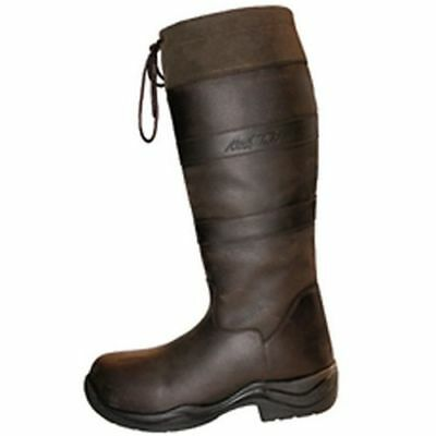Mark Todd Country Boots Mark Ii Brown Wide - Size 38  - Tod139325