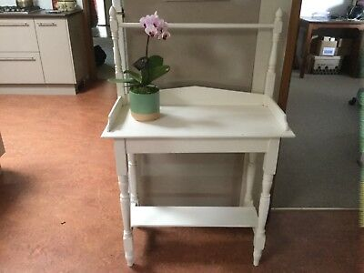 Antique painted wash stand, shabby chic