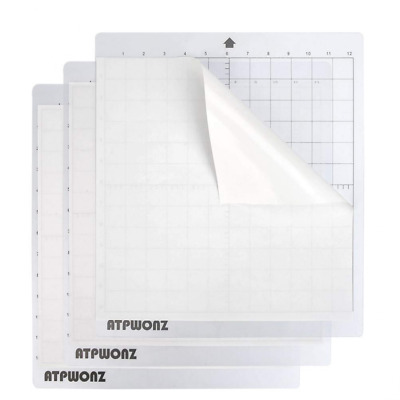 OFNMY 3Pcs Standardgrip Silhouette Cutting Mat, 12'' X 12'' Replacement Cameo