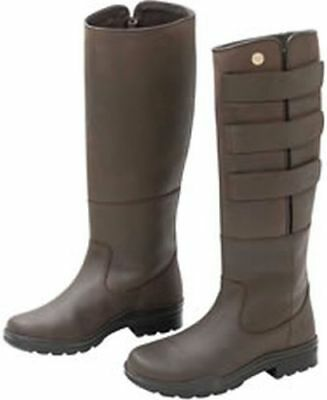 Field Boots Brown - Size 6 (39) - Trl9603