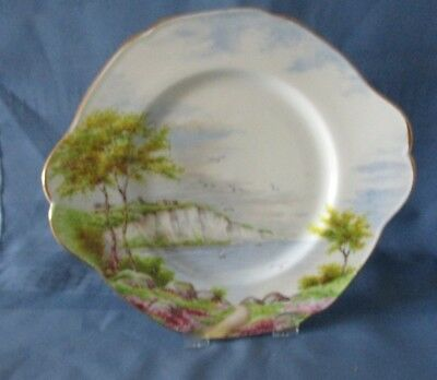 Paragon  Cliffs Of Dover  Cake Plate Excellent Condition No Gold Loss