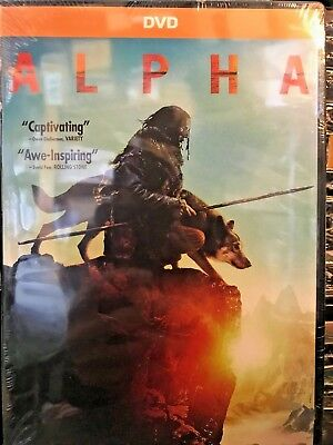 """Brand New/sealed """"alpha""""  (Dvd 2018) Free Shipping / Ships Within 24 Hours!!"""