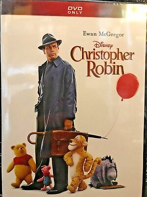 BRAND NEW/SEALED Christopher Robin (DVD 2018) FREE SHIPPING/SHIPS WITHIN 24 Hrs!