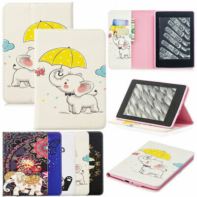 Painting Leather Smart Case For Amazon Kindle Paperwhite 10th Generation 2018