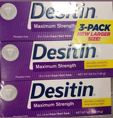 Desitin 3 Pack Max Strength