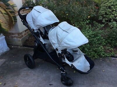 Baby Jogger City Select Twin Double Stroller w/ Second Seat