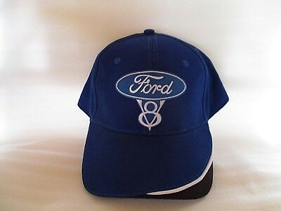 FORD V8 - High Detail Design - Cap Hat - Must Have! NEW Car Biker