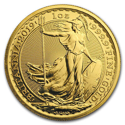 2019 Great Britain 1 oz Gold Britannia Coin BU - SKU #179986