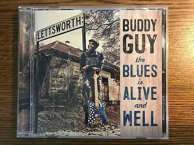The Blues Is Alive and Well by Buddy Guy (Like New CD, 2018)
