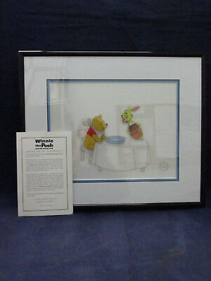 DIsney Winnie the Pooh and the Honey Tree LE Sericel Art Cel - Hunny's for Lunch