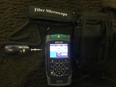 JDSU OLP-87 Power Meter and Microscope P5000i Fiberscope & Case -