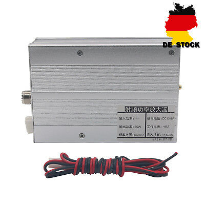 40W UHF 400-470MHZ Ham Radio Power Amplifier for Interphone DMR DPMR P25 C4FM DE