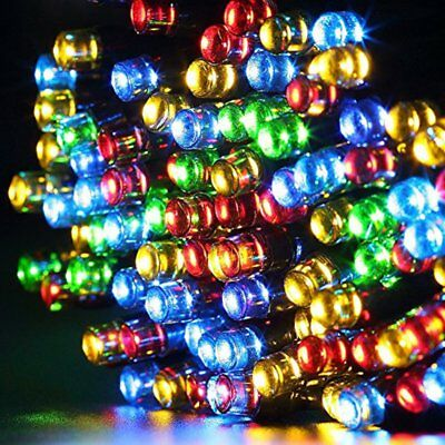 Solar Power 50-500 RGB LED Fairy Lights String Garden Outside Party Xmas Patio